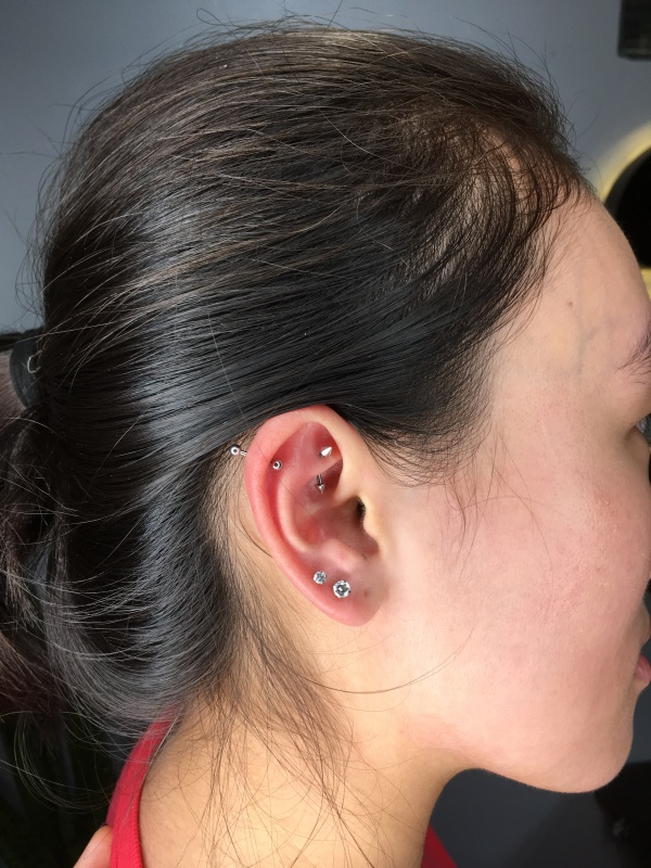 manila piercing